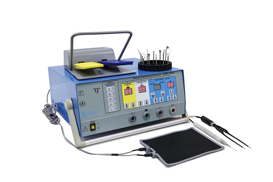 электрокоагулятор хирургический с насадками